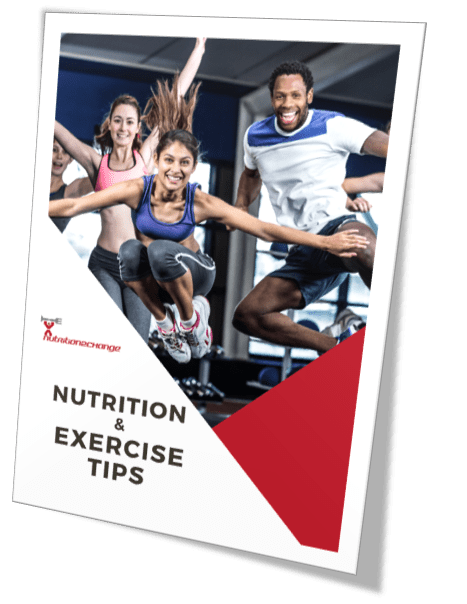 nutrition and exercise tips cover
