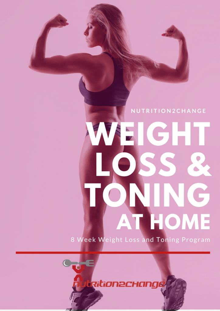 8 week home weight loss front cover