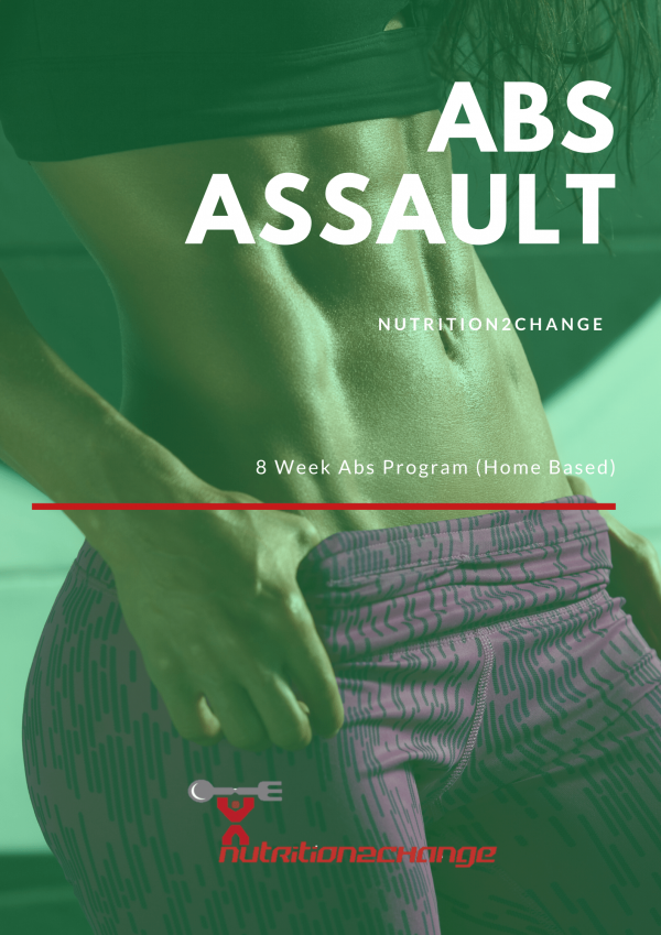 Home Based abs programme front cover