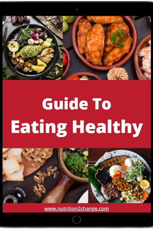 cover of healthy eating guide