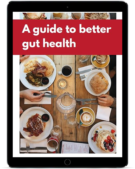 preview of the guide to improving gut health