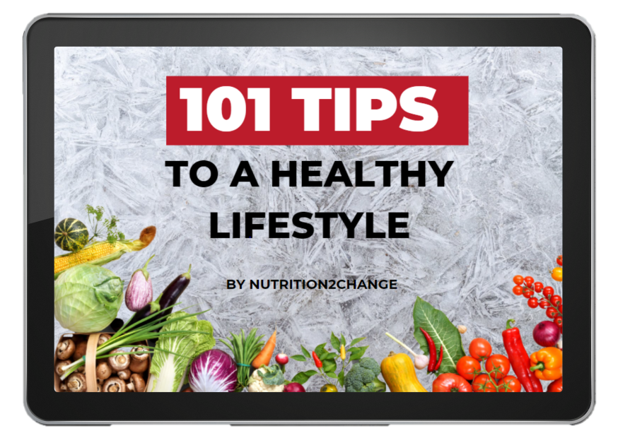 101 tips to a healthy lifestyle